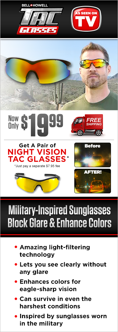 Order Tac Glasses Today!